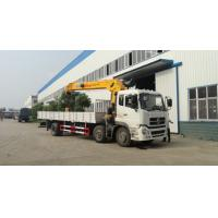 Buy cheap Euro 3 210hp  12T Dongfeng 6x2 Cargo Crane truck from wholesalers