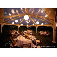 Quality High Strength Aluminum Alloy Frame Clear Cover Luxury Wedding Tents Marquees Waterproof for sale