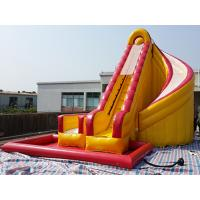Wholesale Outdoor Kids Inflatable Water Slide With Pool / PVC Tarpaulin Water Park Games from china suppliers