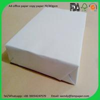 Wholesale 80GSM Colorful and white color Copy Paper Printer Paper with A4 Letter Size from china suppliers