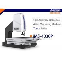 Buy cheap 400x300mm High Accuracy 3D Manual Vision Measuring Machine iTouch Series from wholesalers