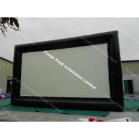 Wholesale Outdoor Inflatable Advertising Products , Giant Inflatable Movie Screen from china suppliers