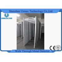 Wholesale Adjustable Sensitivity Walk Through Metal Detector Security Gate PVC Synthetic Material from china suppliers