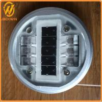 Wholesale 140 * 50mm 6PCS Aluminum Alloy Shell LED Solar Road Studs For Road Safety from china suppliers