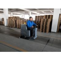 Wholesale Food Court Ride On Floor Scrubber Dryer Mini Driving Type With Warning Light from china suppliers