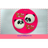 Wholesale supply 3D soft rubber pvc drink coaster from china suppliers