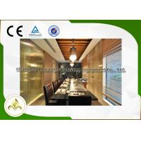 Wholesale Electric / Induction 9 Seat Teppanyaki Grill Table With Exhaustion / Purification System from china suppliers