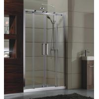 Buy cheap sliding door small Corner Shower Enclosures Tempered  glass Material Magnet lock strip from wholesalers
