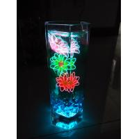 Quality EL glowing silk flower for sale
