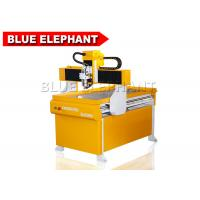 Wholesale Portable 4 Axis 6090 Mini Cnc Pcb Router / Math3 Cnc Controller Router With Rotary Device from china suppliers