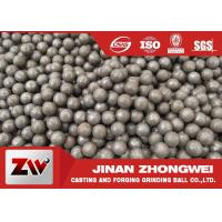 Wholesale High Hardness Forged and Cast Grinding Steel Balls for Mining Used from china suppliers