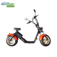 Wholesale EcoRider Fat Tire 2 Wheel Electric Bicycle , On Off Road Eletric Scooter With Remote from china suppliers