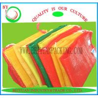 Wholesale reusable mesh produce bags,recycled PP raschel bag from china suppliers