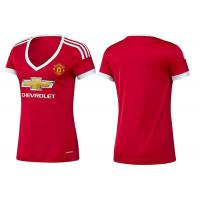 Wholesale Man United Home Red Female Football Shirts Team Uniform Kids Soccer jersey Orignal from china suppliers