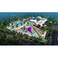 Wholesale Large Holiday Waterpark Project , Indoor Amazing Funny Water Park / Customized water slide from china suppliers