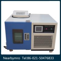 Quality blue Climatic Programmable color touch-screen environmental test chamber for sale