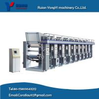 Wholesale Normal Speed Computerized Register Gravure Printing Machine (YYASY-800B model) from china suppliers