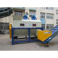 Quality 1000-1500kg / H Plastic Recycling Machines Agricultural Sand / Grass Impurities Removel Machine for sale