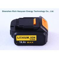Wholesale Replacement LI-ION Dewalt Power Tool Batteries 14.4V 4.0Ah DCB140 / XR DCB140-XJ from china suppliers