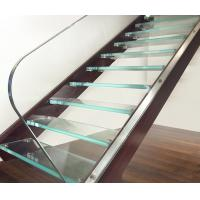 Wholesale Ultra Clear Tempered Laminated Glass For Stairs High Strength ISO 12543 from china suppliers