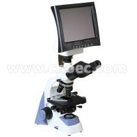 "Wholesale 8.0"" LCD Screen Binocular Digital LCD Microscope A33.1301 With LED Lamp from china suppliers"