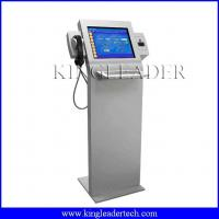 Wholesale Super slim information kiosk with chip cardreader, handset    custom kiosk design TSK8001 from china suppliers