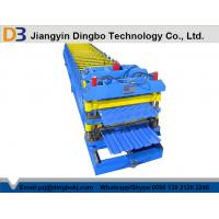Wholesale 5.5kw Metal Steel Tile Forming Machine for Convenient Construction from china suppliers