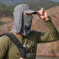 Wholesale Outdoor Sport Hats With Mask Ear Protection Fleece Cap Washable Breathable Women Men Hat Durable from china suppliers