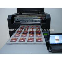 Buy cheap inkjet printer pvc card id card business card printer from wholesalers