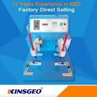 Wholesale Wear Resistant Rubber Testing Equipment , Leather / Cloth / Coating Abrasion Testing Equipment from china suppliers