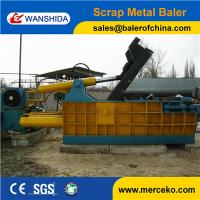 Wholesale China manufacturer strong power turn out Hydraulic Scrap Metal Balers for metal smelting industry from china suppliers