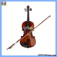 Wholesale New 4/4 Natural Acoustic Violin + Case+ Bow + Rosin-Y00326 from china suppliers