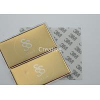 Wholesale Gold Color Screen Printing 3D Domed Labels , Raised Doming Labels from china suppliers