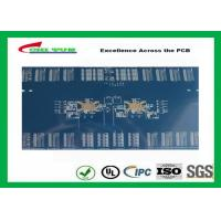 Wholesale 3.8mm 12 Layer Quick Turn PCB Prototypes Blue Solder Mask PCB OEM from china suppliers