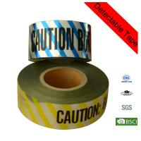Wholesale 200m Yellow Electrical Line Plastic Underground Detectable Warning Tape from china suppliers