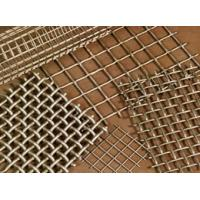 Quality Wall Decorative Stainless Steel Perforated Metal Mesh Sheets With Round , Square Opening for sale