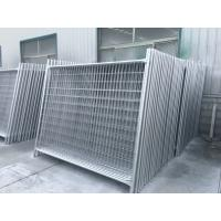 Wholesale 14 microns hdg pre-galvanized temporary fencing panels 2100mm x 2400mm od 32 x 1.40mm mesh 60mm x 150mm from china suppliers