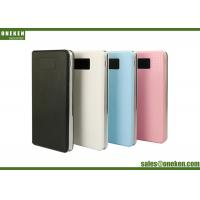 Wholesale 8000 Mah Portable Power Bank , Smart Power Bank With LCD Display And Light from china suppliers