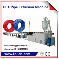 Wholesale Pipe Extrusion machine for PEX pipe making 25m/min from china suppliers