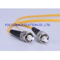 Buy cheap Optical Fiber Patch Cord 9/125 Fiber Optic Patch Cord Single Mode ST SC 3.0mm For WAN Systems from wholesalers