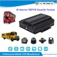 Wholesale 720P Truck School Bus 4 Camera Car DVR Security Monitoring System from china suppliers