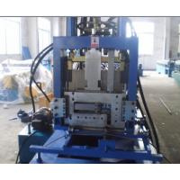 Wholesale CE Certificated CZ Purlin Roll Forming Machine , Roll Former Machine from china suppliers