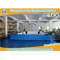 Wholesale Snooker Ball Game Inflatable Playground , Billiards Inflatable Football Pool Table from china suppliers