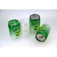 Wholesale Small Opening 355Ml Empty Plastic Beverage Can Customized For Juice from china suppliers
