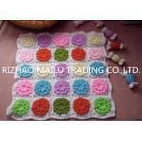 Wholesale Colorful Multi Flower Square Hand Crochet Stool Cover Car Seat Cover from china suppliers