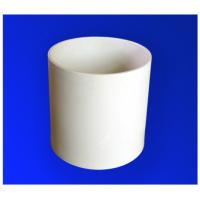 Quality Precision High Voltage 95% AL2O3 / Alumina Ceramic Tubes With Grind- Resist Capability for sale