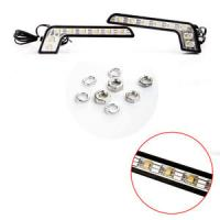 Wholesale 8 High Power White Color Waterproof Led Daytime Driving Lights from china suppliers