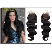 Wholesale Shedding Free  Natural Black Weft 100%  virgin human hair loose wave   14inch 16inch from china suppliers