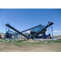 Wholesale Stone Complete Crushing Plant Folded Chevron Belts CE Approval 180 - 200TPH from china suppliers