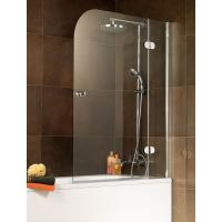 Wholesale Tempered Frameless Shower Enclosure Glass 1400x800 Mm High Polished Edges from china suppliers